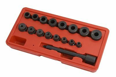 17 Piece Clutch Alignment Tool Kit Aligning Universal For All Cars & Vans