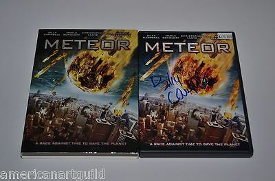 METEOR Signed DVD BILLY CAMPBELL $175.00