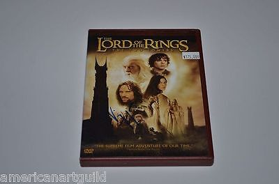 The LORD of the RINGS The TWO TOWERS Signed by VIGGO MORTENSEN 2 DVD SPECIAL