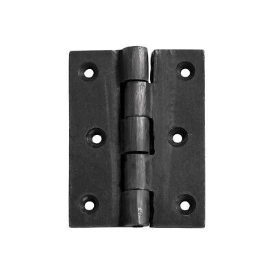Tradco 1240AF Hinge Cast Iron Antique Finish 89x65mm