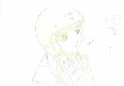 Anime Genga not Cel Ah My Goddess #4