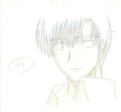 Anime Genga not Cel Chobits #70