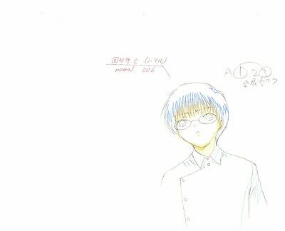 Anime Genga not Cel Chobits 2 pages #69