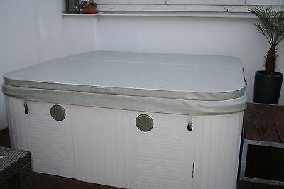 (82,--/m²) Whirlpool Abdeckung Thermoabdeckung Cover 191 x 191 cm grau Outdoor