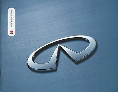 Auto Brochure - Infiniti - Product Line Overview - c2000  (A1053)