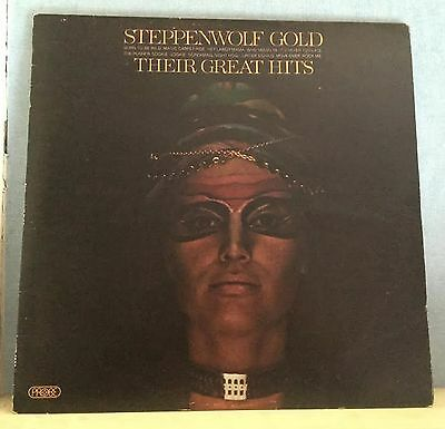 STEPPENWOLF Gold Their Great Hits 1971 UK vinyl LP EXCELLENT CONDITION