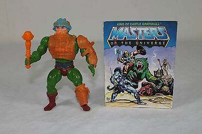 Man At Arms -1982/Taiwan- (Masters of the Universe) komplett mit Comic