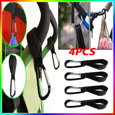 4pcs/lot Universal Mummy Buggy Clip Pram Pushchair Stroller Hook Shopping Bag