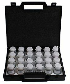 Squires Kitchen Professional Dust Food Colour Kit 24 Colour Pots & Mixing Tray