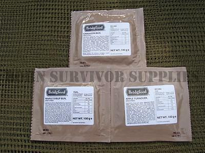 BRIDGFORD MRE RATION PACK SANDWICH POUCH US Army British NATO Camping Food Snack