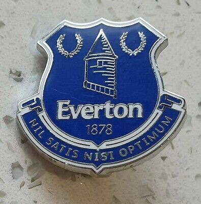 Everton Official  Pin Badge - Blue Club Crest