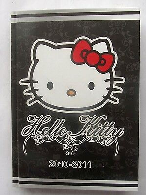 AGENDA  2010-2011  HELLO KITTY - neuf - avec page de stickers
