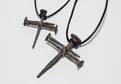 Roman Nail Cross Necklace