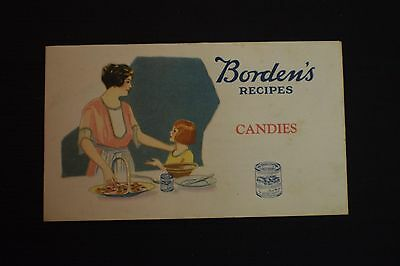 Borden's Recipes Candies Pamphlet