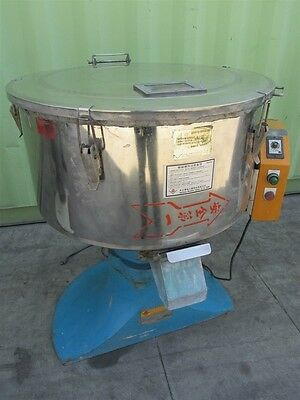 "Jian Kwang Machine Tka150 31.5"" Diameter Plastic Granule Dryer Mixer"