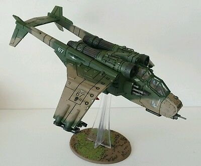 Imperial Guard Cadian Valkyrie Assault Carrier Pro painted Warhammer 40k (b)