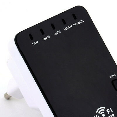 300Mbps Wireless-N Mini Router Wifi Repeater Extender Booster Amplifier UR