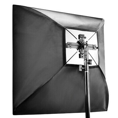 walimex Set 4f. Blitzhalter inkl. Softbox 60x60cm - NEU & OVP by Mediaresort