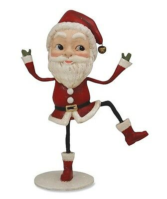 """Uptown Santa"" 8"" Santa Claus Figure by Bethany Lowe Designs"
