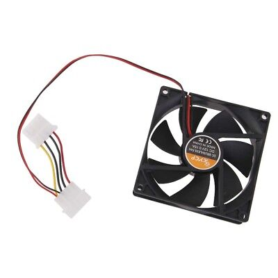 90mmx25mm DC 12V 2 Pin PC Computer CPU Brushless Cooling Cooler Fan