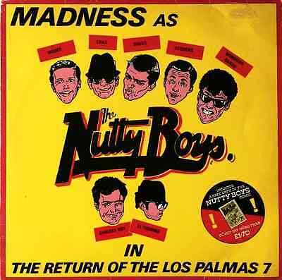 """MADNESS - The Return Of The Los Palmas 7 (12"""") (VG+/G+)"""