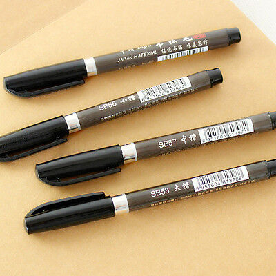 Calligraphy class Pen Gift Set With Nibs Ink & Guide Book Manuscript 3 Colors