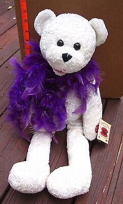 """CHANTILLY LANE Musicals plush doll Suzie NWT toy """"Girls Just Want to Have Fun"""""""