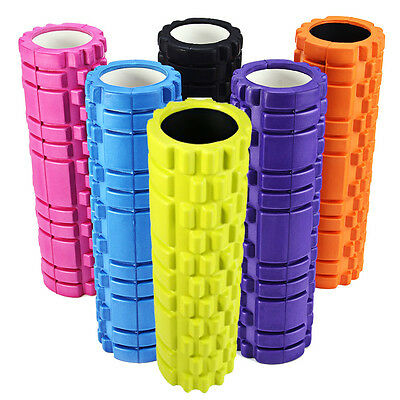 EVA Physio Foam Roller Yoga Pilates Gym Exercise Trigger Point AUK