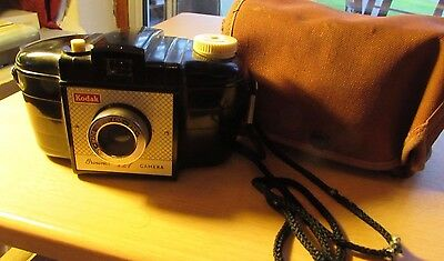 Vintage Brownie 127 Camera With Case