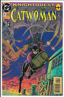 DC Comics - Catwoman: Knightquest The Search #6 Jan 1994