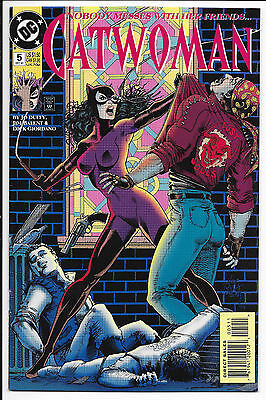 DC Comics - Catwoman: Nobody Messes With Her Friends - #5 Dec 1993