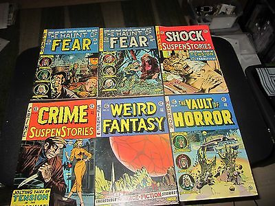 Rare Set Of 6 Bronze Age E.c. Comics Reprints Hard To Find !!!!
