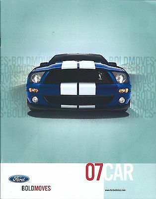 Auto Brochure - Ford - Mustang Fusion Focus Five Hundred - 2007  (A1064)