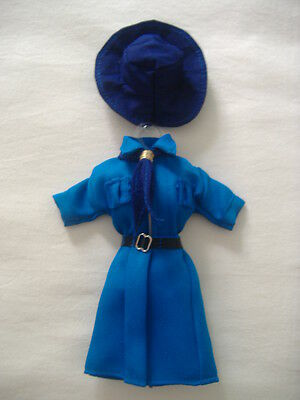 Girl Scout Barbie Doll Outfit (Blue)