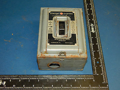 General Electric CR1062-M1A Motor Starting Switch 2 or 3 Phase CR1062M1A
