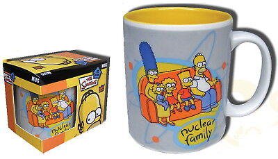 Simpsons tasse Officielle famille Homer Simpsons nuclear family mug