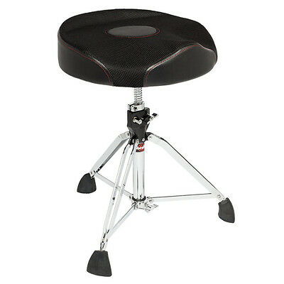 Gibraltar Oversized Web Top Round Drum Throne Seat Ergonomic - 9608Rw2T
