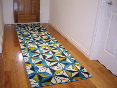 Premium Quality Hall Runner Rug Patterned Designer FREE DELIVERY 300cm Long