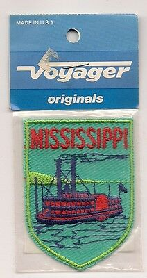 Souvenir Voyager Patch - The State Of Mississippi