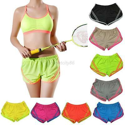 Loose Workout Yoga Shorts Women Quick Dry Sports Shorts Pants Gym Workout New