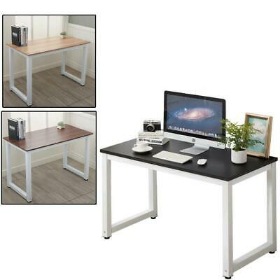 Home Office Computer Desk PC Laptop Table Metal Leg Workstation Study Furniture