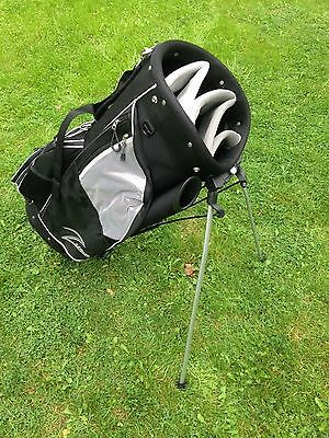 *NEW* Golf carry cart trolley bag Removable stand for carry / trolley black