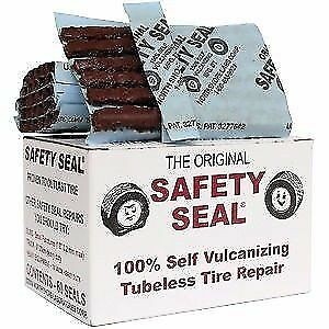 """60 Safety Seal 4"""" Tire Plugs, 60 Per Box Tire Repair Brown Plugs Fast Shipping"""