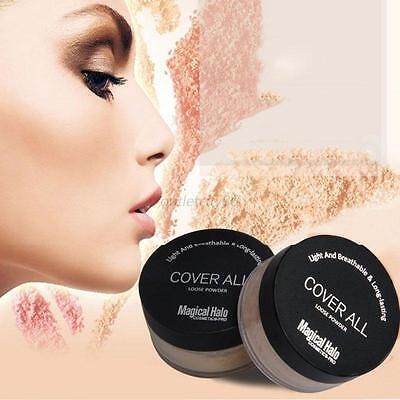 Waterproof Long Lasting Face Powder Make Up Mineral Loose Powder Oil Control NEW