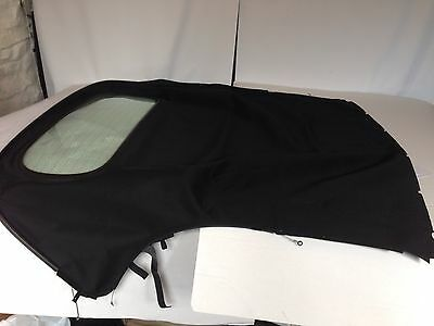 Porsche Boxster 987 Replacement Hood/roof In Black Mohair Rrp £571
