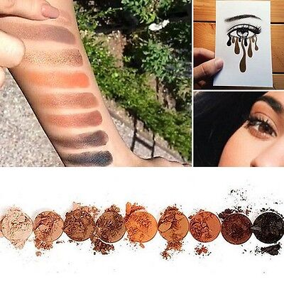 9 Colors Lady Eye Shadow Make Up Cosmetic Shimmer Matte Eyeshadow Palette Set SP