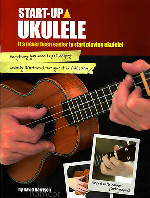 Start Up Ukulele Learn How to Play Tutor Method Teach Yourself TAB & Chord Book