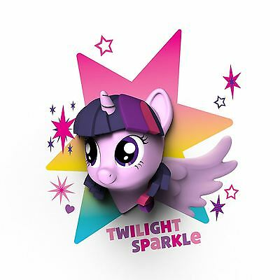 My Little Pony 3D Wall Light - Twilight Sparkle - Lilac New Official Free P+P