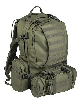 Defense Pack Assembly oliv, Rucksack, Camping, Outdoor, Military    -NEU-