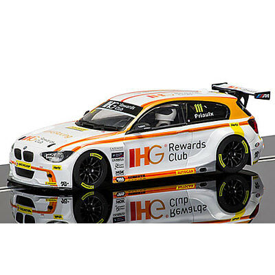 SCALEXTRIC Slot Car C3784 BTCC Andy Priaulx BMW 125